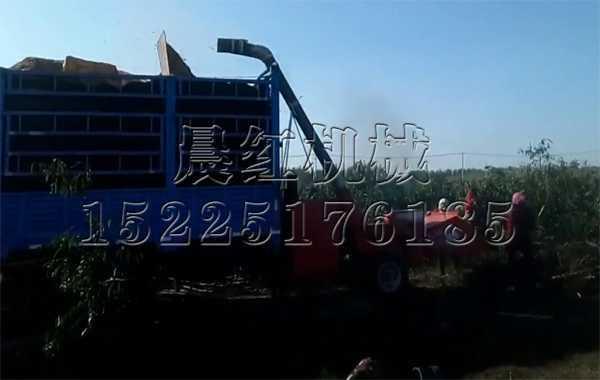江苏连云港de大型mucaifen碎机gong作现场