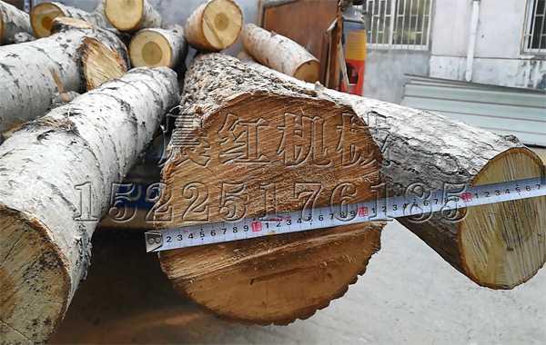 fa往江苏的1500da型木材粉碎ji试ji中